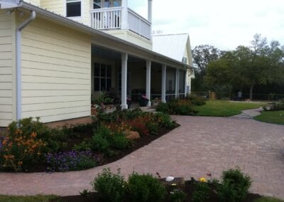 Flower Beds and Patio