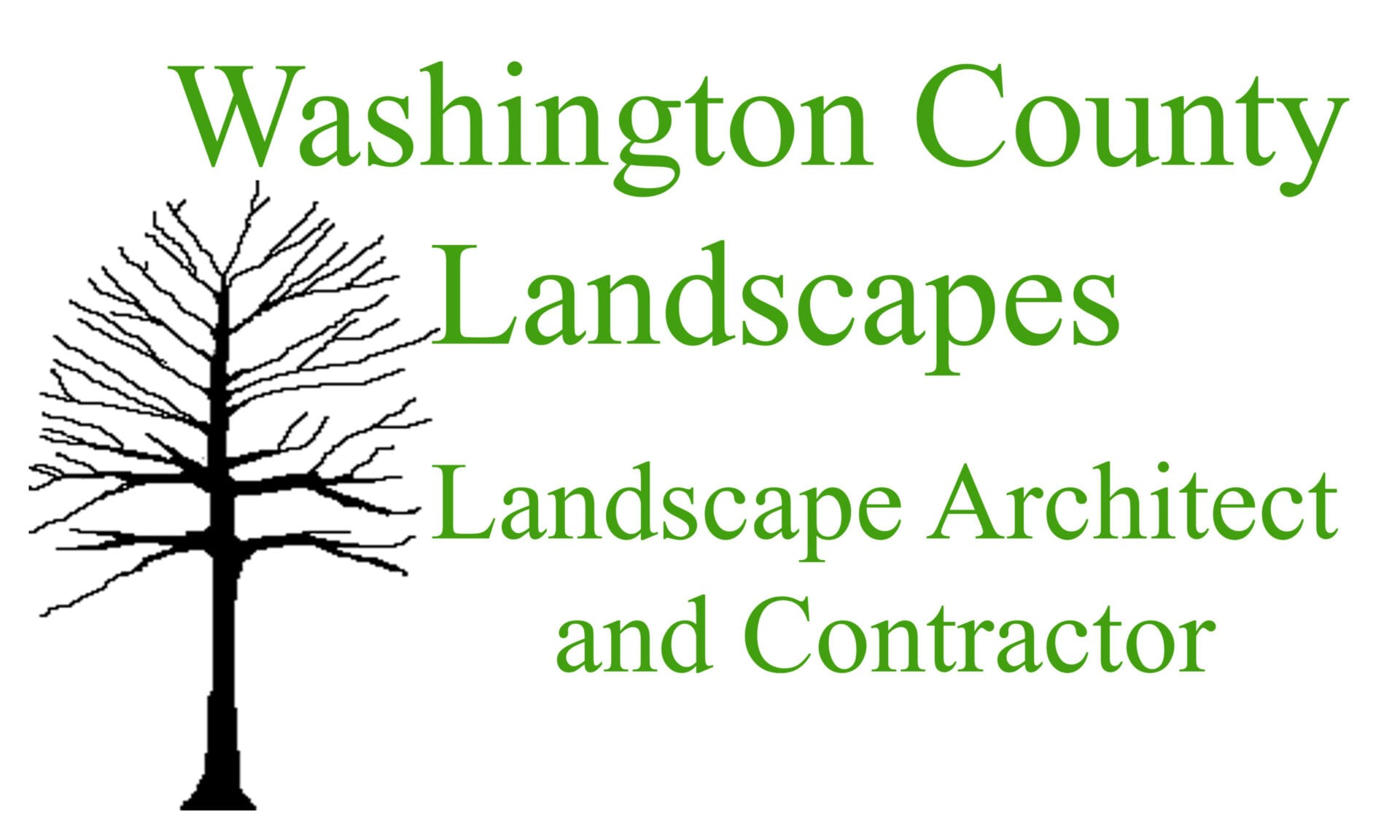 Washington County Landscapes, Landscape Architect and Contractor